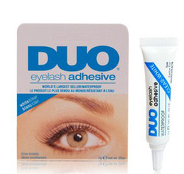 Wholesale HOT DUO Eyelash Adhesives New Hot Water Proof False Eyelashes Glue g Eyelid Adhesive