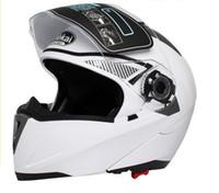 Blues full face helmet - ECE Helmets JIEKAI undrape face helmet Full Face helmet Motorcycle Helmet motorbike helmet motocross helmet MOTO Racing Helmets of ABS