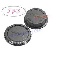 Wholesale Rear Lens Cover amp Camera Body Cap for canon SLR DSLR