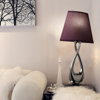 other other other Modern brief fashion 8 series bedside lamps fashion copper mirror decoration table lamp