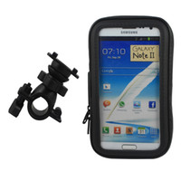 Wholesale IP4 Waterproof Bicycle Bike Handlebar Stand Mount Holder Bag for Samsung Note N7100 pc