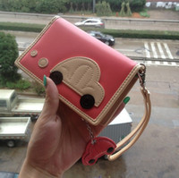 Wholesale 2013 Cheap Womens Purse from China with Cute Car Pattern C2