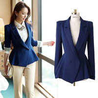 Women Waist_Length Polyester Fashion Tailoring 2013 Autumn New Women Business Suit Elegant Suit Coat for Women - Free Shipping