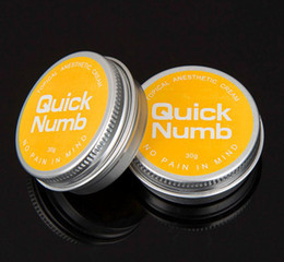 Wholesale Quick Numb g Anesthetic Tattoo Numbs Skin Fast Cream Painless Tattooing Supply