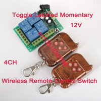 Wholesale 315 MHz Wireless Remote Switch Control V Channels Relays Receiver amp Transmitters