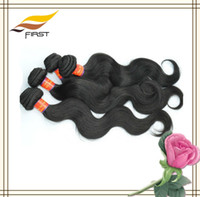 Wholesale UNPROCESSED a Grade Brazilian Virgin Hair Weave Body Wave brazilian human hair natural color inch hair length