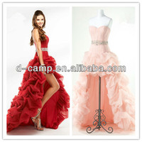 Sweetheart A Line Polyester OC-163-1 Factory direct real wedding dress model dress party_from topbridals