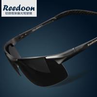 Wholesale Male sunglasses polarized sunglasses male sunglasses sports aluminum magnesium driving mirror sun glasses H1879