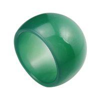 jade rings - Mens Jewelry new genuine green jade ring finger ring