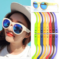 UV400 Oval Man Free Shipping 2013 New Fashion Stylenanda Sunglasses Women Men Colorful Party Sunglasses DIY Sunglasses # WY77