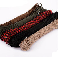 Wholesale Hot roll super quality Seven core umbrella rope outdoor safe rope parachute lifesaving rope diameter mm climbing rope