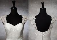 2013 New Style Elegant detachable bolero cap sleeve Lace App...