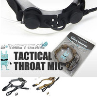 Wholesale Brand Throat Mic Z033 Fit All Z tactical s NATO PTT Plug Three Colors