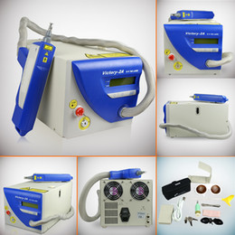 Wholesale Low Price Pro YAG LASER MACHINE TATTOO EYEBROW REMOVAL Victory MADE BY TOPLASER CE MJ