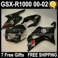 7gifts+ Seat Cowl For SUZUKI K2 00- 02 GSXR1000 ALL Black 00 0...