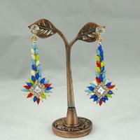 Wholesale Christmas resin earrings new fashion personality pendant earrings