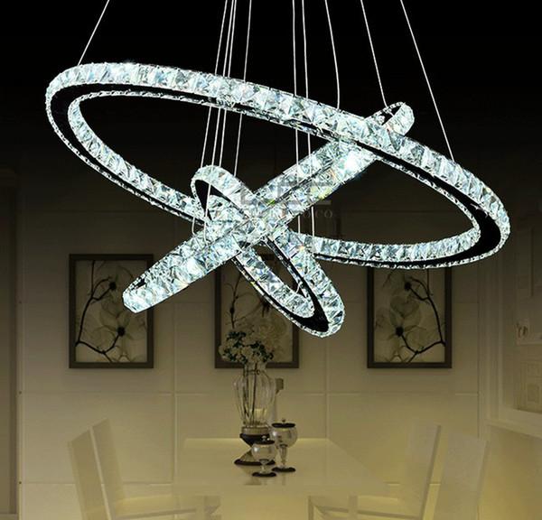Vente en gros - LED Lustre Crystal Chandelier u00e9clairage moderne Salle ...