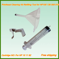 Wholesale Maintenance refilling Kit for HP printhead cleaning kits tool For HP510 Printer