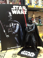 Wholesale New Star Wars Figures toy Black Knight Darth Vader High quality PVC Action Figures quot CM Gift