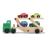 Wholesale Melissa amp Doug Car Carrier Education Toy Kids Toys Building Block Wooden Toys