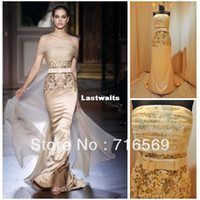 Reference Images Scoop Organza Free shipping elie saab dress for sale real pictures 2013 Evening dresses Discount
