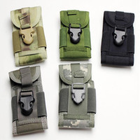 Unisex brand tennis bag - Brand New Athletic Outdoor Bags High Quality D Outdoor Sports Nylon Molle Phone Pouch Bag