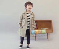 Wholesale 2013 Gentlemen Style Autumn Wear Trendy Coat Children Clothing All Match Temperament Dany Outwear Kid Long Sleeve Fancy Clothes