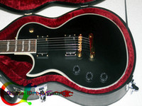 Wholesale Great Left Handed Guitar Custom Shop Electric Guitar IN Black matte High Quality guitar