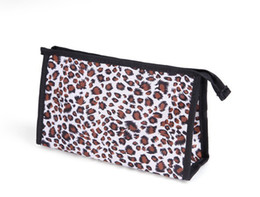 Wholesale Popular Makeup Bags Cosmetics Bags With Zipper And Small Mirror Canvas Cosmetics Bag