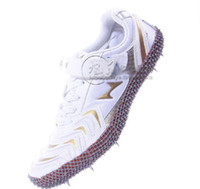 Nueva llegada Ken Hyers High calidad zapatos saltando zapatos de salto de longitud del clavo picos de pista y campo entrenamiento zapatos