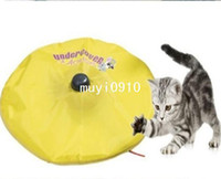 Wholesale retail Undercover Mouse cat toy panic mouse cat s meow electronic cat toy cat training tool TV042