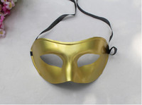 Wholesale Send free DHL Christmas Masks Venetian Masks Masquerade Masks Plastic Half Face Mask