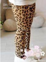 Wholesale girl leopard pants Children Leggings Girls Leopard Leggings baby pants girl leopard tigh