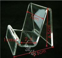 Wholesale Multi Acrylic Wallet Purse Rack Stand Holder Display U disk iphone mobile phone shell small things piece