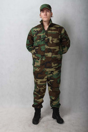 Wholesale US British Army Military BDU Training uniform Jungle camouflage uniform jacket amp pants