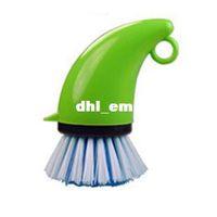 Toilet Foam Kitchen Pot pot degreasing brush household cleaning brush pot dish bowl cup plastic brush cleaning equipment