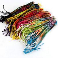 Cheap Weave String Bracelets For Women Sport Bracelet Party Jewelry 120PCS LOT Free Shipping