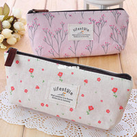 Aluminum Bag Cosmetic Cases Fashion Pastoral Cosmetic Storage Bag Coins Purse pencil case New free shipping