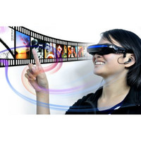 Wholesale Portable Eyewear Virtual Private Theater Glasses Inch Wide Screen Display Video Glasses Virtual Theatre
