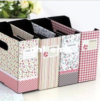 Bamboo Bedding Eco Friendly 2pcs lot Fashion desktop storage box desk organizer pencil box make up case cosmetic box Free Shipping