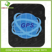 Wholesale GPS Mini Personal Tracker GSM GPRS Network pet kids GPS tracker