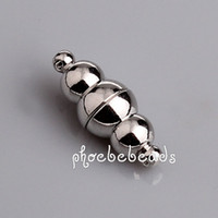Wholesale Hot Sale Magnetic Stainless Steel Clasps For Necklaces Making PMC M017