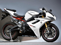 Wholesale Body Fairings for Triumph Daytona675 Daytona White Black ABS Plastic