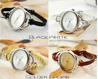 Wholesale Fashion casual watches Slender female watches Ellipse watches