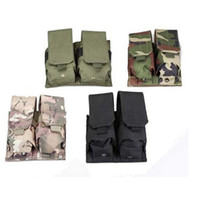 Wholesale High Quality Nylon Molle Double M4 Magazine Pouch For Airsoft Mag Bag