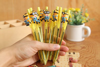 Wholesale NEW Despicable Me Minion cartoon ballpoint styles school things EMS