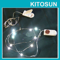 Wholesale CR2032 Batteries Operated Micro LED lights Fairy Light Decoration for Christmas Xmas Party Wedding