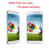 WCDMA Other Please Check Picture Android 4.1 Ulefone U9503 three sim card android phones 5.0 inch screen MTK6572 dual core 1.3mhz 512M RAM 4G ROM WCDMA GSM GPS WIFI (13083101)