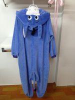 Anime Costumes adult nighty - Pyjamas Animals Onesie Eeyore Donkey Kigurumi Cosplay Costume Pajamas Unisex Adult Sleepwear Sleepsuit cartoon cute soft nightclothes nighty