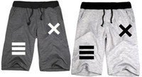 Wholesale new sale hip hop clothes pyrex shorts HBA XX printed loose fashion casual short hba half shorts Colors